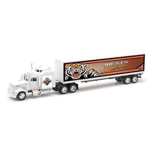 Wests Tigers Custom Kenworth W900 Team Truck 1:43 Scale