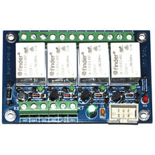 12V General purpose 4 channel relay card/board - FINDER Relays