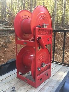 Reelcraft HC3700 Nordic Series Heavy Duty Fuel Hose Reels with Custom Stand