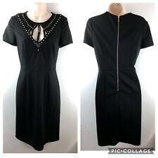 ALICE by TEMPERLEY Black Dress, UK10, US6, Embellished LBD Little Black Dress