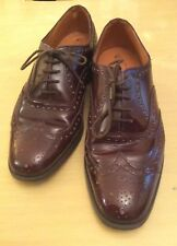All Leather Brogues 6.5 Mens Conker Brown M&S Quality Style