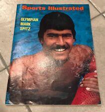 Lot of 3 Vintage Sports Illustrated Magazines 1972 1974 Mark Spitz Babe Ruth