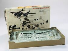 Vintage Revell P-38 Lightning Model Aircraft Kit