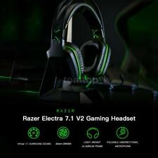 Razer Electra Gaming Headset Earphone True 7.1 Surround Sound for Desktop PC
