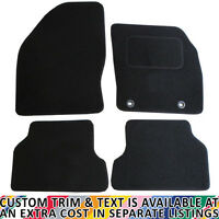 Ford Focus ST 2005-2011 Fully Tailored 4 Piece Car Mat Set with 2 Clips