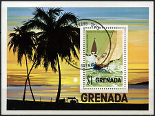Grenada 1975 SG#MS744 Pan American Games, Yachting Cto Used M/S #D23653