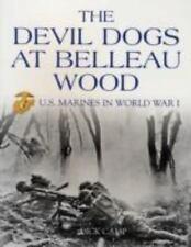 US Marines Devil Dogs Belleau Wood SIGNED Illustrated WWI Military History PB