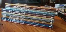 The Walking Dead trade paperback, volume 1-9 & 15-18