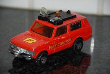 VINTAGE 70'S MATCHBOX SPEEDKINGS K-64 RANGE ROVER FIRE CONTROL TRUCK