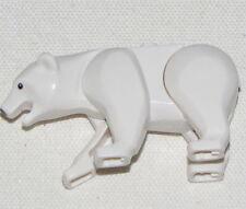 LEGO NEW WITE POLAR BEAR ANIMAL ARTIC FIGURE PIECE