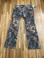 New Women's Under Armour Fletching Hunting Pants Ridge Reaper Forest 943 Size 4