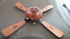 """Hunter 44"""" Baseball Ceiling Fan Reversible Blades Item 84994 Model 2184-Tested"""