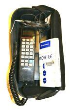 Motorola Car Phone w/ logo carrying case - SCN2500A Vintage 1990s