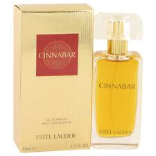 Estee Lauder CINNABAR for Women EDP Spray Perfume 1.7oz / 50ml NEW in Retail Box