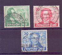 Berlin 1949 - Goethe - MiNr. 61/63 rund gestempelt - Michel 180,00 € (840)