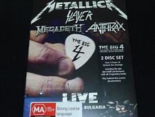Metallica Slayer Megadeth Anthrax The Big 4 Live 2dvd