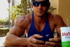 Muscular Male Body Builder Hunk Tank Top Sunglasses Stud PHOTO 4X6 F391