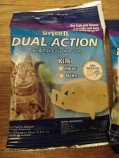 Sergeant's Dual Action Flea & Tick Collar II for Cats & Kittens (2 Pack)