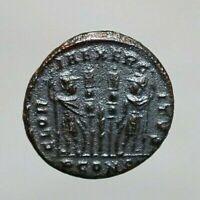 Antica moneta romana COSTANZIO II. 17mm. A567