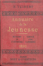 Annuaire de la Jeunesse 1893 - H. VuibertVUIBERT