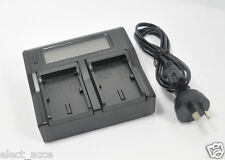 Dual Channel Battery Charger BLN-1 BLN1 E-M5 EM5 Mark II E-M1 EM1 PEN F EP-5 EP5