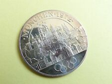 Olympic Games 1972 Munich Medal/ Token Silver 999,9 (myrefn9636)
