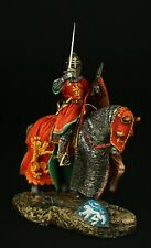 Tin soldier, Museum (TOP), Medieval Knight in Tournament Armor 54 mm, Medieval