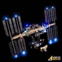 LIGHT MY BRICKS - LED Light kit for International Space Station set 21321