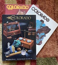 Mineralogical Record All Three Colorado Issues 1, 2 and 3 - Excellent Condition!