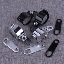 4x Motorcycle Turn Signal Fork Clamps Relocater Shock Bracket Fit For Motorcycle