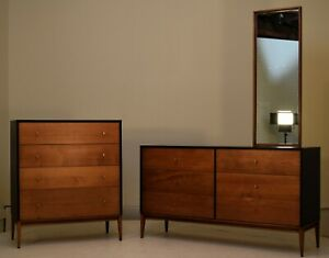 Paul McCobb winchendon Planner Group Dresser tallboy vintage suite bedroom
