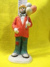 "Clown Emmet Kelly Jr. Figurine "" Balloon Man "" In Box ©1989 ExCond. 6"" tall See"