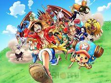 Poster A3 One Piece Luffy Zoro Sanji Franky Usopp Chopper Mugiwaras Nakamas 10