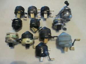 Vintage Zebco Fishing Reel Lot 202, 404, 733, 808 And 33 For Restoration And Use