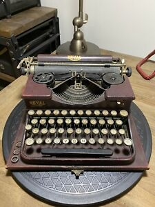1920s Royal Typewriter Red Crackle