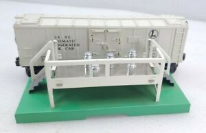 Rarer Lionel Train Postwar 3482 Milk Car Platform w/3472 on Right & 5 Cans O
