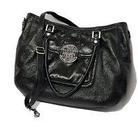 Tory Burch AMANDA patent Leather Black Crossbody Bag