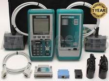 Fluke Microtest OMNIScanner Cat5 Cat5e Cat6 Certifier Tester