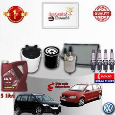 Filtres Kit D'Entretien Huile Bougies VW Touran 1.6 16V 75KW 102CV à partir de