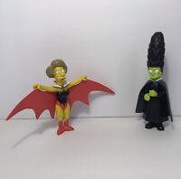 2002 The Simpsons Treehouse of Horror Witch Marge + Vampiredna Edna Krabappel