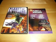 Planet of Dinosaurs (DVD, 2001) Ultra Rare/OOP w/Insert! Region Free! 1979 SciFi