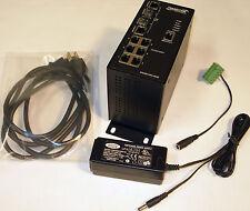 Transition SISGM1040-262D-LR 8-Port 10/100/1000 Managed Hardened Gigabit Switch