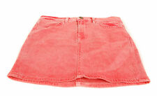 Wildfox Women's Katie Denim Mini Skirt Zip Fly Vintage Lifguard RRP £75 BCF62