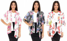 Unbranded Floral Coats & Jackets Waterfall for Women