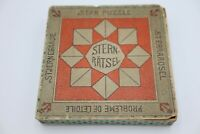 Antique Richter Stone Anchor Toy Puzzle Game Sternratsel