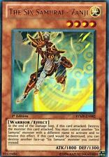 The Six Samurai - Zanji 1st X 3 RYMP-EN092 Ultra Yugioh