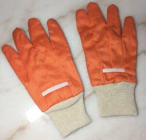 Unbranded Promo Working & Gardening Painting Landscape Orange Color Gloves