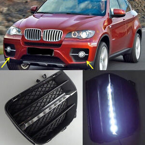 replacement LED Daytime Running Lights DRL LED Fog Lamp for BMW X6 2008-2013
