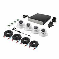 Kit Vidéo Surveillance Sécurité Extérieur et intérieure Alarme-8 CH 720 P