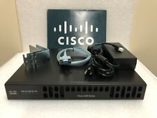 CISCO ISR4221/K9 2-Port Gigabit ISR Integrated Services Router ISR4221 TESTED